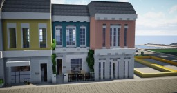 Colorful Townhouses Minecraft Map & Project