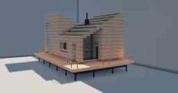 Modern Cabin Minecraft Project