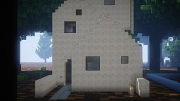 Sand Stone Town house & DNLD Minecraft Project