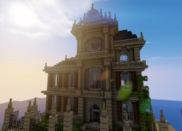 Villa and Bar Minecraft Map & Project