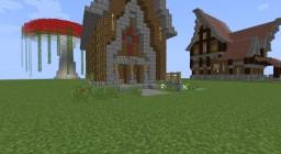 Medieval Mushroom City Minecraft Project