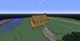 Large Wooden House Minecraft Project