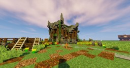 Small medieval hut (+download!) Minecraft Map & Project