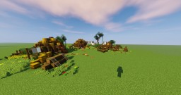 Medieval camp (+download!) Minecraft Map & Project