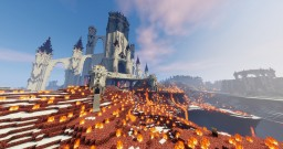 Huge ass fantasy fortress Minecraft Project