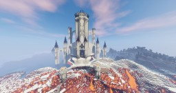 Huge ass fantasy fortress Minecraft Map & Project