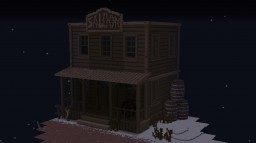[Western] // Big Saloon by Sciron Minecraft Map & Project