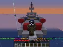 My Ship Headed To Battle Minecraft Project