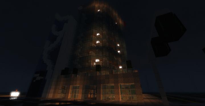 1980 S Modern Skyscraper I Glendale Minecraft Project