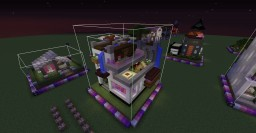 One Chunk Creative Cube House Minecraft Project