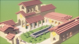 Ancient Greek Villa Minecraft Project