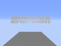 Font(for Minecraft) Minecraft Project
