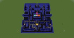 Pac-Man Maze Minecraft