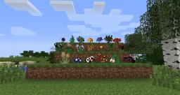 A lot of many flowers Minecraft Mod