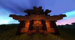 Medevil Workhouse And Family Home. Minecraft Project