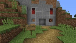 Piston House #5 Redstone Facility Minecraft Project