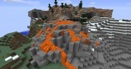 The Volcano Research Map Minecraft Project