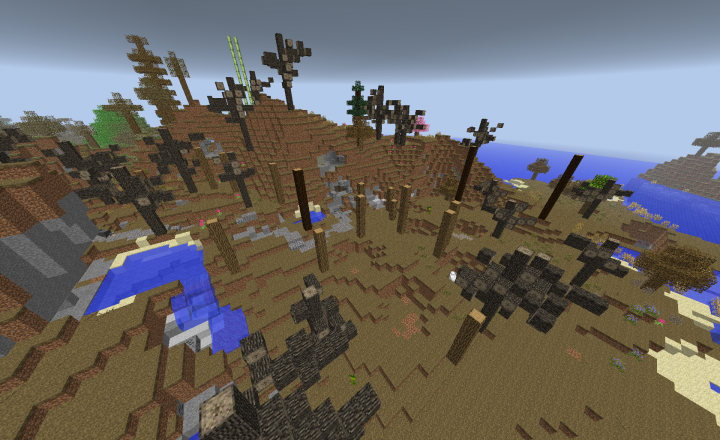 The Withers Shrine - I actually killed the wither here in survival for the bants