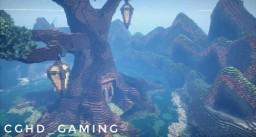 Fantasy Tree House Minecraft Map & Project