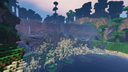 Stream of Waterfall Minecraft Map & Project