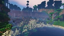Stream of Waterfall Minecraft Project