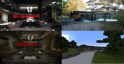 Batman Vs Superman Dawn of Justice Wayne Residence Minecraft Project