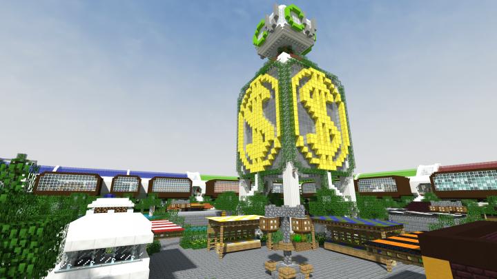 MinecraftCityVille 1 12 German economy and city build server