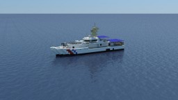 USCGC Bernard C. Webber  1:1 scale Minecraft Map & Project
