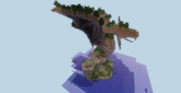 Overgrown dragon statue Minecraft Project