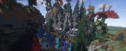 Creative: Magic Kingdom Spawn | SurvivalDub Minecraft Project