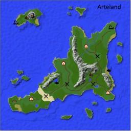 [World Map] Arteland Minecraft
