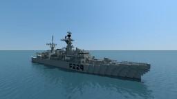 HMS LANCASTER (F229) Minecraft Project