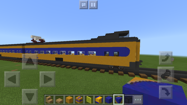 Real Train Mod Monorail