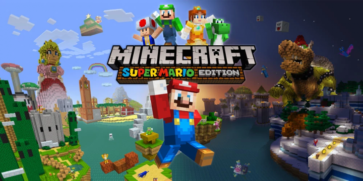 Super Mario Mash-Up Pack Minecraft Project