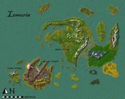 [World Map] Lemuria Minecraft Project