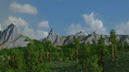RPG Map/Location based on 3/3K Valley v2 Minecraft Map & Project