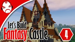 Minecraft Fantasy Castle Lets Build - Needs A Name Minecraft