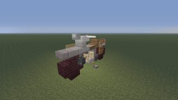 R.D.O MSA M33 Motorcycle single, with sidecar and towed Minecraft Project