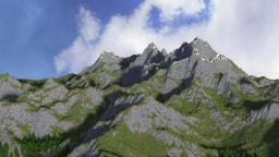 High Mountains Map Minecraft Project
