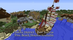 Docks District & Port Andros Minecraft Map & Project