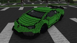Vehicle Virgins' (Parker Nirenstein) Lamborghini Huracan LP 610-4 Minecraft Map & Project
