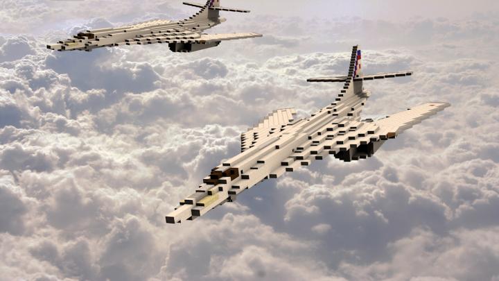 Défi moins de kits en cours : Rockwell B-1B porte-clé [Airfix 1/72] *** Abandon en pg 9 - Page 3 Tu-160-high-speed-1508019764