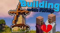 Survival built medieval Windmill :: Minecraft 1.12 Minecraft Project
