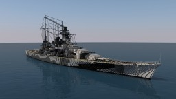 DKM Scharnhorst - 4:1 Scale Minecraft Project