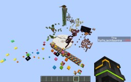 Rush parkour, rush to the finish line ! Minecraft Project