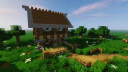 Minecraft How To Build A Survival Starter House Tutorial Minecraft Project