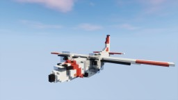 Alenia C-27J Spartan U.S. Coast Guard 1,5:1 Minecraft Project