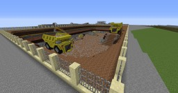 Quarry and big TRUCK! Minecraft Project
