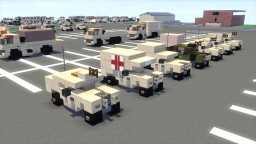 Humvee U.S. Military HMMWV Pack Minecraft Project