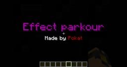 Effect parkour Minecraft Project